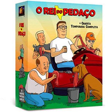 DVD O Rei Do Pedaço 4ª Temporada (4 DVDs)