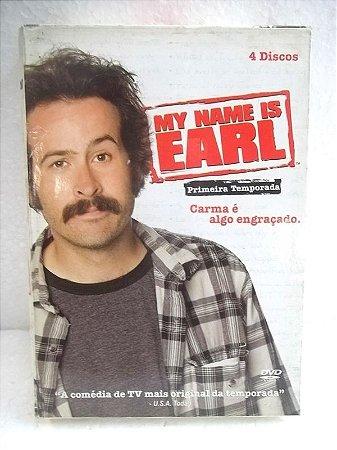 DVD MY NAME IS EARL 1ª TEMPORADA ( 4 DISCOS )