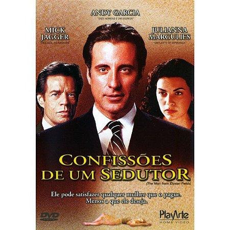 DVD CONFISSÕES DE UM SEDUTOR - ANFY GARCIA