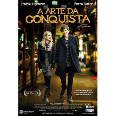 DVD A ARTE DA CONQUISTA - EMMA  ROBERTS