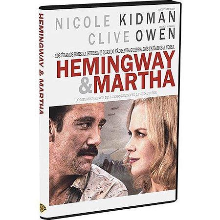 DVD - A Vida e a Guerra de Hemingway e Martha
