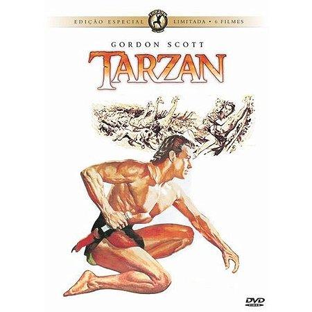 DVD Tarzan - Gordon Scott (6 Dvds)