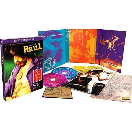 DVD Raul Seixas O Início o Fim e o Meio Ed Col. (2 DVD 2 CD)