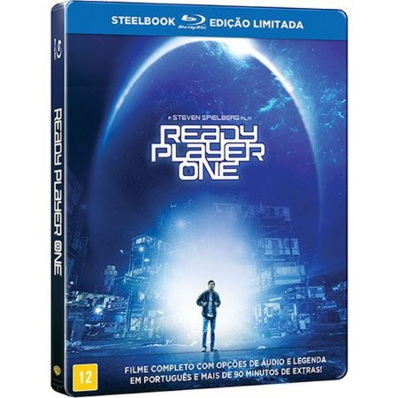 Steelbook Blu-Ray Jogador Nº 1