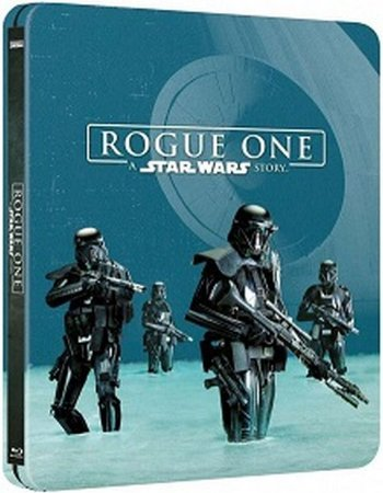 STEELBOOK-BLU-RAY DUPLO-ROGUE ONE: UMA HISTÓRIA STAR WARS