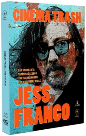 DVD Cinema Trash - Jess Franco  - 2 DVD's