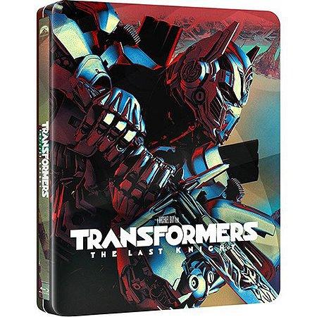 Steelbook Blu-Ray Duplo - Transformers - O Último Cavaleiro