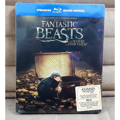 Steelbook Blu-Ray Animais Fantásticos E Onde Habitam