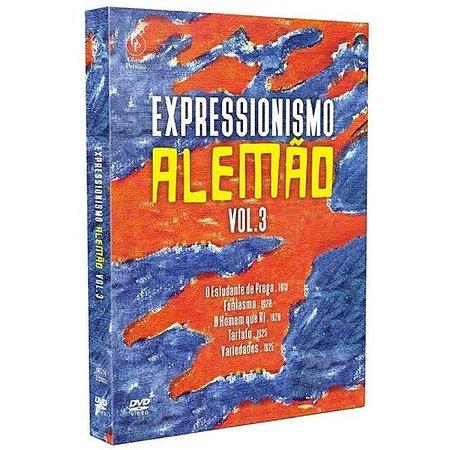 Dvd Expressionismo Alemão Vol.3 - Digistak Com 3 Discos