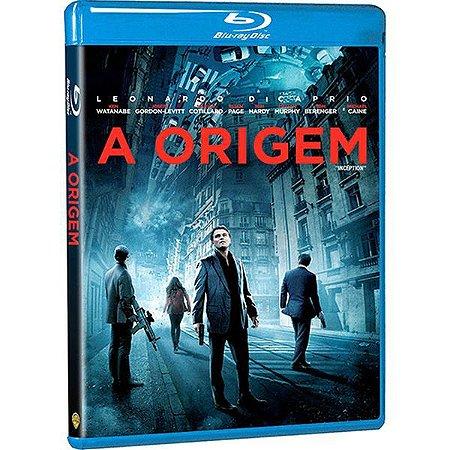 Blu-Ray a Origem - Leonardo Dicaprio, Ken Watanabe