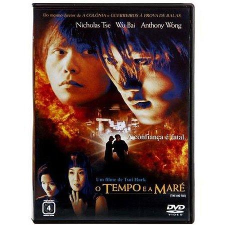 DVD - O Tempo e a Maré - TSUI HARK