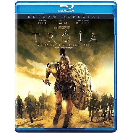 Blu-Ray - Tróia: Versão do Diretor - BRAD PITT