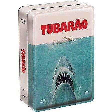 Blu-ray Tubarão Edição Especial de Colecionador - Lata