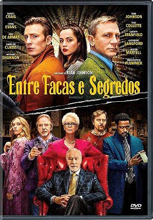 DVD Entre Facas E Segredos - Daniel Craig