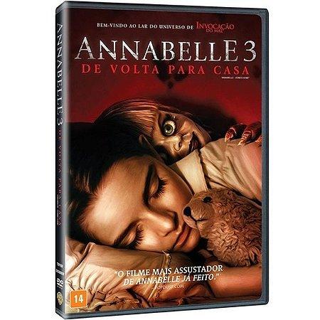 DVD - Annabelle 3  - De Volta Para Casa