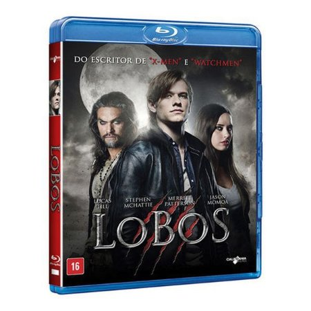 Blu-Ray - Lobos - JASON MAMOA