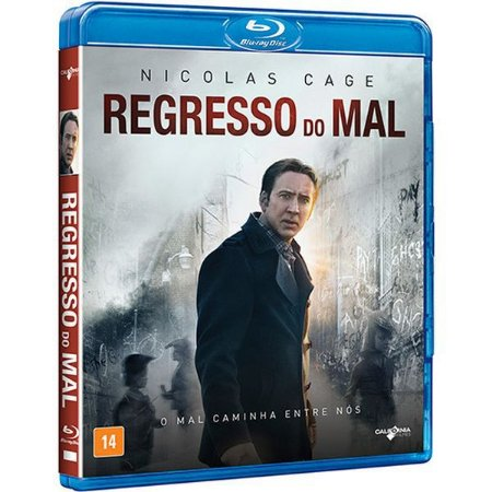 BLU-RAY - REGRESSO DO MAL - NICOLAS CAGE