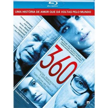 Blu-Ray - 360 - ANTHONY HOPKINS