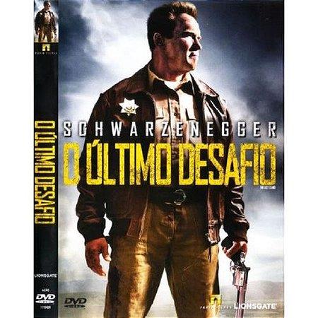 DVD - O ÚLTIMO DESAFIO  - ARNOLD SCHWARZENEGGER