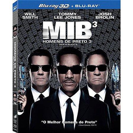 Blu-Ray 3D + Blu-Ray 2D - MIB 3 - Homens de Preto 3
