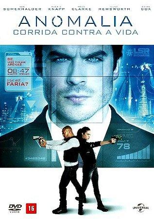 DVD  - A ANOMALIA: CORRIDA CONTRA A VIDA
