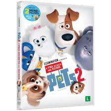 DVD  - PETS A VIDA SECRETA DOS BICHOS 2