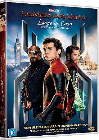 DVD  - HOMEM ARANHA LONGE DE CASA