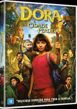 DVD DORA E A CIDADE PERDIDA