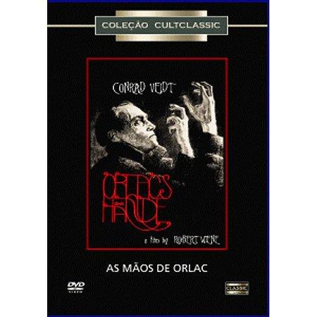 Dvd As Mãos De Orlac - Conrad Veidt