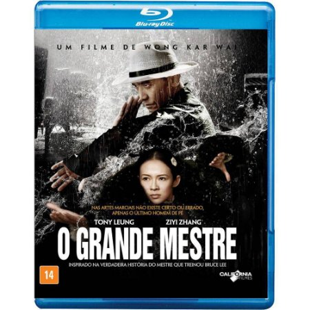 Blu ray - O Grande Mestre - Tony Leung Chiu Wai
