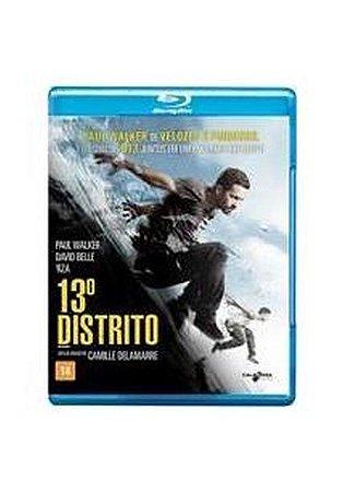 Blu ray - 13º Distrito - Paul Walker
