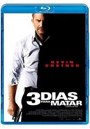 Blu ray - 3 Dias Para Matar - Kevin Costner
