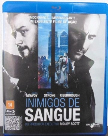 Blu ray - Inimigos De Sangue - James Mcavoy