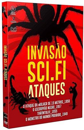 DVD - INVASÃO SCI.FI ATAQUES
