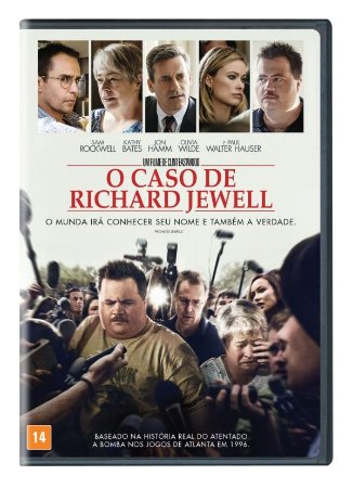 DVD - O CASO RICHARD JEWELL - Kathy Bates