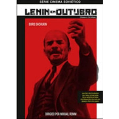 DVD - LENIN EM OUTUBRO - Mikhail Romm