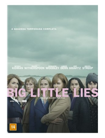 DVD - BIG LITTLE LIES - A 2A TEMPORADA COMPLETA