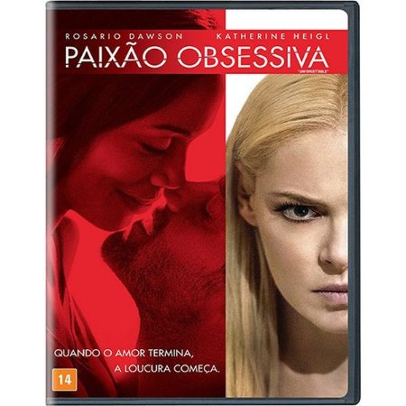 DVD PAIXÃO OBSESSIVA - KATHERINE HEIGL