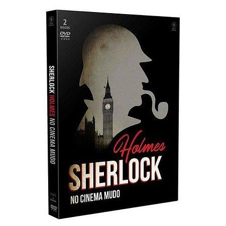 DVD Sherlock Holmes No Cinema Mudo (2 DISCOS)