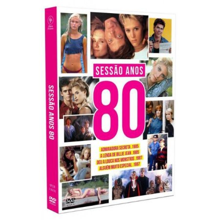 DVD - SESSÃO ANOS 80 (2 DISCOS)