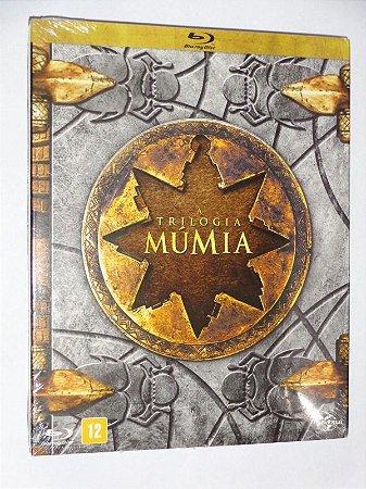 Blu-Ray Múmia - A Trilogia (3 DISCOS)