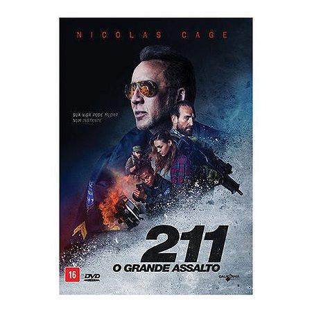 DVD - 211 - O Grande Assalto - Nicolas Cage