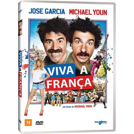 DVD Viva A França! - Michael Youn