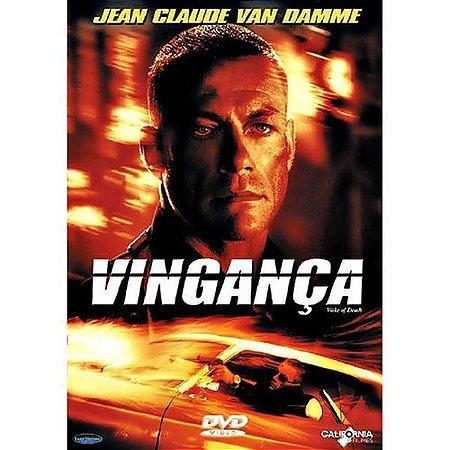 DVD - VINGANÇA - VAN DAMME
