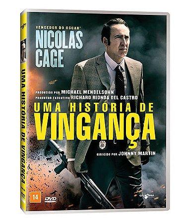 DVD Uma História De Vingança - NICOLAS CAGE
