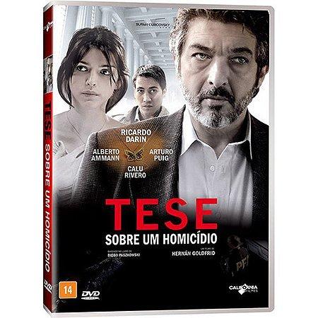 DVD Tese Sobre Um Homicídio - Ricardo Darín
