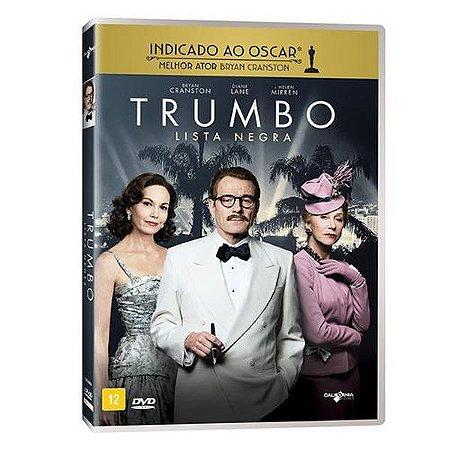 DVD - TRUMBO  LISTA NEGRA - BRYAN CRANSTON