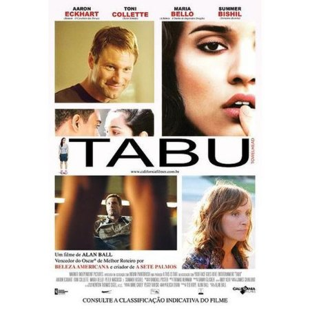 Dvd Tabu - Aaron Eckhart, Toni Collette