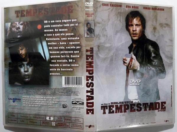 DVD TEMPESTADE STORM  -  ERIC ERICSON EVA ROSE
