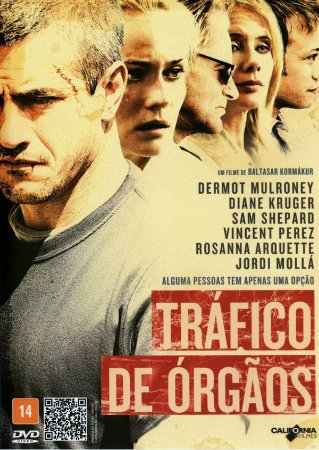DVD - TRÁFICO DE ÓRGÃOS - DERMOT MULRONEY